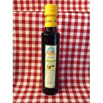 Condimento aromatizzato con limoni in bottiglia di vetro da 0,25 L.