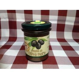Pasta di olive nere 180 g.
