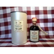 Aceto Balsamico Leonardi in tubo perlato 8 travasi 250 ml.