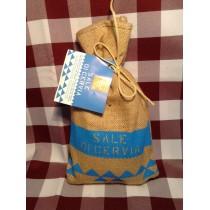 Sale di Cervia in sacchetto di Juta da 1 kg.