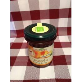 """Confettura """"Le Pesche"""" solo frutta 220 g. BIO"""
