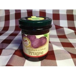 """Confettura """"Le Prugne"""" solo frutta 220 g. BIO"""