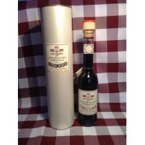 Aceto Balsamico Leonardi in tubo perlato 12 travasi 250 ml.